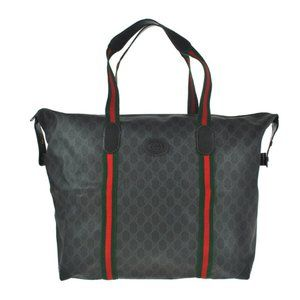Authentic Gucci Sherry Ophidia Supreme Tote Bag